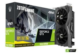 ZOTAC ゾタック グラフィックボード ZOTAC GAMING GeForce GTX 1660 SUPER AMP ZT-1660S-6G-AMP/ZT-T16620D-10M [6GB /GeForce GTXシリーズ][ZTT16620D10M]