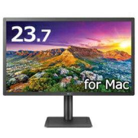 LG 24MD4KL-B USB-C接続 PCモニター 4K UltraFine [23.7型 /ワイド /4K(3840×2160)][23.7インチ 液晶ディスプレイ パソコンモニター]