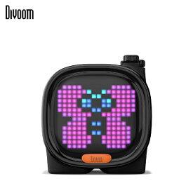 DIVOOM ディブーム 90100058117 ブルートゥーススピーカー Divoom - TIMOO ブラック [Bluetooth対応][90100058117]