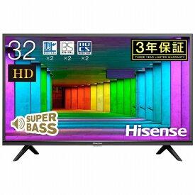 ハイセンス Hisense 液晶テレビ 32H38E [32V型 /ハイビジョン][テレビ 32型 32インチ][32H38E]