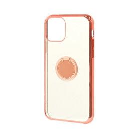 ラスタバナナ RastaBanana iPhone 11 6.1インチ モデル トライタンリングメタルフレームケース 5124IP961TR ローズゴールド