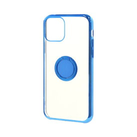 ラスタバナナ RastaBanana iPhone 11 6.1インチ モデル トライタンリングメタルフレームケース 5126IP961TR ブルー