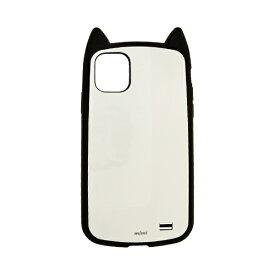 ラスタバナナ RastaBanana iPhone 11 Pro Max 6.5インチ モデル VANILLA PACK mimi 5163IP965HB ブラック×ホワイト