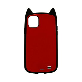 ラスタバナナ RastaBanana iPhone 11 Pro Max 6.5インチ モデル VANILLA PACK mimi 5164IP965HB ブラック×レッド