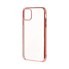 ラスタバナナ RastaBanana iPhone 11 Pro Max 6.5インチ モデル トライタンメタルフレームケース 5177IP965TR ローズゴールド