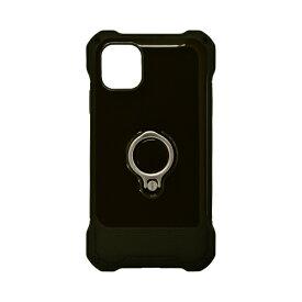 ラスタバナナ RastaBanana iPhone 11 Pro Max 6.5インチ Tough Ring ハイブリッドケース 5188IP965HB ブラック