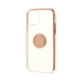 ラスタバナナ RastaBanana iPhone 11 Pro 5.8インチ トライタンリングメタルフレームケース 5004IP958TR ライトピンク