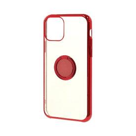 ラスタバナナ RastaBanana iPhone 11 Pro 5.8インチ トライタンリングメタルフレームケース 5006IP958TR レッド