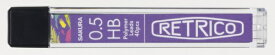 サクラクレパス SAKURA COLOR PRODUCT 【限定】レトリコ替芯05 ビビッドバイオレット K-5RH
