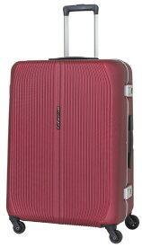 SKY NAVIGATOR スカイナビゲーター スーツケース ワンタッチロックハードフレーム 71L レッド SK-0810-64-RD [TSAロック搭載]