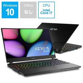 GIGABYTE ギガバイト AERO 15 OLED SA-7JP5130SP ゲーミングノートパソコン [15.6型 /intel Core i7 /SSD:512GB /メモリ:16GB /2019年11月モデル][15.6インチ 新品 windows10][AERO15OLEDSA7JP5130S]