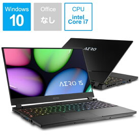 GIGABYTE ギガバイト AERO 15 XA-7JP2130SH ゲーミングノートパソコン [15.6型 /intel Core i7 /SSD:512GB /メモリ:16GB /2019年11月モデル][15.6インチ 新品 windows10][AERO15XA7JP2130SH]