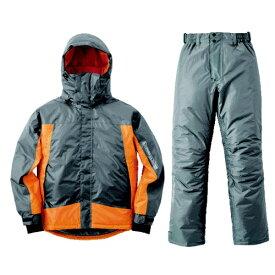 ロゴス LOGOS メンズ レインウェア 防水防寒スーツ シースパロー(オレンジ/Mサイズ) 30376563