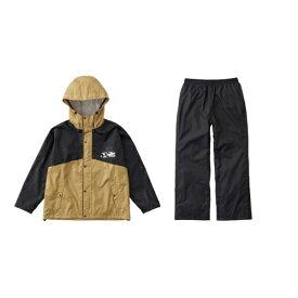 ロゴス LOGOS メンズ レインウェア レインコンフォート 撥柄スーツ(ベージュ/3Lサイズ) 28743660