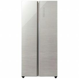 AQUA アクア 《基本設置料金セット》AQR-SBS45J-S 冷蔵庫 ヘアラインシルバー [2ドア /観音開きタイプ /449L][冷蔵庫 大型 新品 アクア][AQRSBS45J_S]