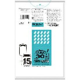 日本サニパック SANIPAK サニパック おトクな!ペール用ゴミ袋 15L 白半透明 30枚 U19T