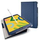 エレコム ELECOM iPad 10.2(第7/第8世代対応) ソフトレザー ドローイング軽量 TB-A19RDPLCNV ネイビー