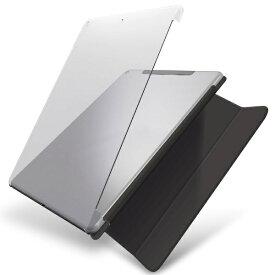 エレコム ELECOM iPad 10.2(第7/第8世代対応) シェルケース スマートケース対応 クリア TB-A19RPV2CR クリア