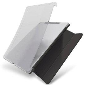 エレコム ELECOM iPad 10.2(第7/第8世代対応) ソフトケース スマートケース対応 クリア TB-A19RUCCR クリア