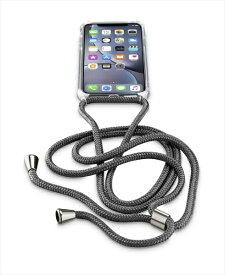 セルラーライン cellular line iPhoneXR用 NECK-CASE ネックストラップ付ケース NECKCASEIPH961K ブラック