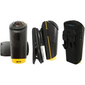 OmiCam OmiCam(オミカム) ウェアラブルVRカメラ OMI01C0E02 ブラック/イエロー [4K対応 /防水+防塵][OMI01C0E02]