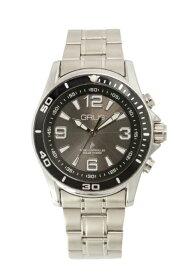 インテック ボイス電波ソーラー腕時計 GRS004-02 ブラック