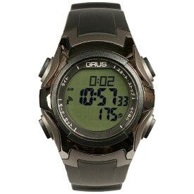 インテック ウォーキング電波ウォッチ GRS005-01 ブラック