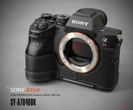 LIMS 本革カメラハーフケース SY-A7R4DBK ブラック