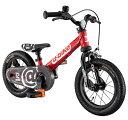 アイデス ides 12型 ランニングバイク D-Bike ディーバイク マスター 12 EZB(レッド) 3825 【代金引換配送不可】