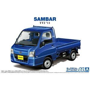 1/24 ザ・モデルカー No.4 スバル TT2 サンバートラック WRブルーリミテッド '11