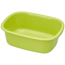 岩崎工業 IWASAKI INDUSTRY 洗い桶小判型 K-1649GA グリーン[K1649GA]