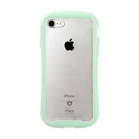 HAMEE ハミィ iPhone SE(第2世代)4.7インチ/ iPhone 8/7専用 iFace Reflection Pastel強化ガラスクリアケース 41-914311 ミント