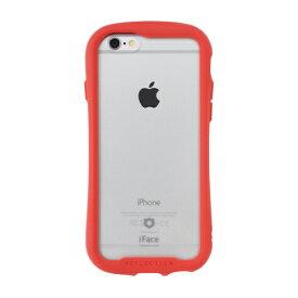 HAMEE ハミィ [iPhone 6s/6専用]iFace Reflection強化ガラスクリアケース 41-907467 レッド