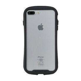 HAMEE ハミィ [iPhone 8 Plus/7 Plus専用]iFace Reflection強化ガラスクリアケース 41-907481 ブラック