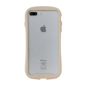 HAMEE ハミィ [iPhone 8 Plus/7 Plus専用]iFace Reflection強化ガラスクリアケース 41-907504 ベージュ