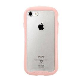 HAMEE ハミィ iPhone SE(第2世代)4.7インチ/ iPhone 8/7専用 iFace Reflection Pastel強化ガラスクリアケース 41-914304 ピンク