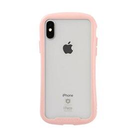 HAMEE ハミィ [iPhone XS/X専用]iFace Reflection Pastel強化ガラスクリアケース 41-914403 ピンク