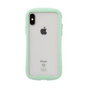 HAMEE ハミィ [iPhone XS/X専用]iFace Reflection Pastel強化ガラスクリアケース 41-914410 ミント