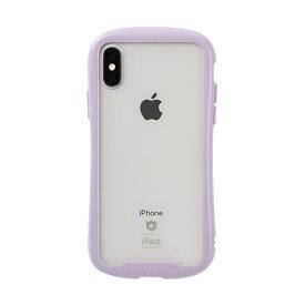 HAMEE ハミィ [iPhone XS/X専用]iFace Reflection Pastel強化ガラスクリアケース 41-914427 パープル