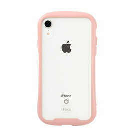 HAMEE ハミィ [iPhone XR専用]iFace Reflection Pastel強化ガラスクリアケース 41-914502 ピンク