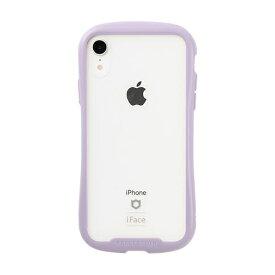 HAMEE ハミィ [iPhone XR専用]iFace Reflection Pastel強化ガラスクリアケース 41-914526 パープル