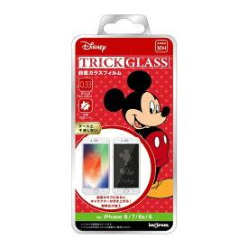 イングレム Ingrem iPhone 8/7/6s/6 『ディズニーキャラクター』/トリックガラスフィルム 10H/『ミッキーマウス』 IN-DP7S6FG/MK1 『ミッキーマウス』
