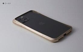 DEFF ディーフ iPhone 11 Pro / XS / X 用 アルミバンパー「クリーヴ」 ゴールド DCB-IPCL19SALGD ゴールド