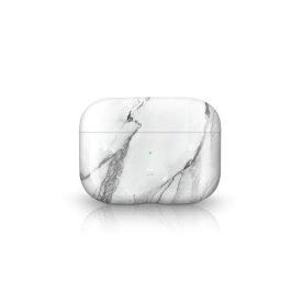 オドロキ ODOROKI PRISMART Case for AirPods Pro Marble White Casestudi[airpods pro ケース カバー]