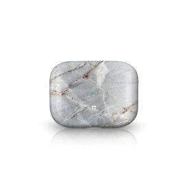オドロキ ODOROKI PRISMART Case for AirPods Pro Marble Grey Casestudi[airpods pro ケース カバー]