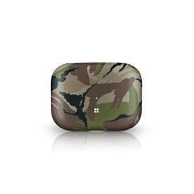 KUTUROGIAN クツロギアン PRISMART Case for AirPods Pro Camo Wood Casestudi[airpods pro ケース カバー]