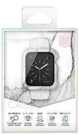 オドロキ ODOROKI AppleWatch 40mm (Series4)(Series5) CaseStudi PRISMART Case Marble White CSWTPRM40MW[CSWTPRM40MW]