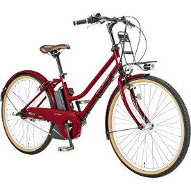 ルイガノ 26型 電動アシスト自転車 LGS ASCENT city アセント シティ 390mm(LG RED/内装3段変速) 71258003【組立商品につき返品不可】 【代金引換配送不可】