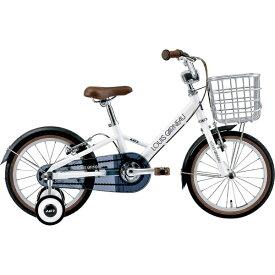 ルイガノ 16型 子供用自転車 K16 plus 220mm(LG WHITE/シングルシフト)【組立商品につき返品不可】 【代金引換配送不可】