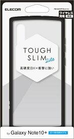 エレコム ELECOM Galaxy Note10+ TOUGH SLIM LITE クリア PM-GN10PTSLCR